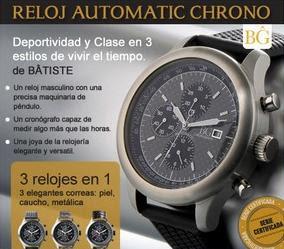 Joya exclusiva Reloj Automatic Chrono de Batiste