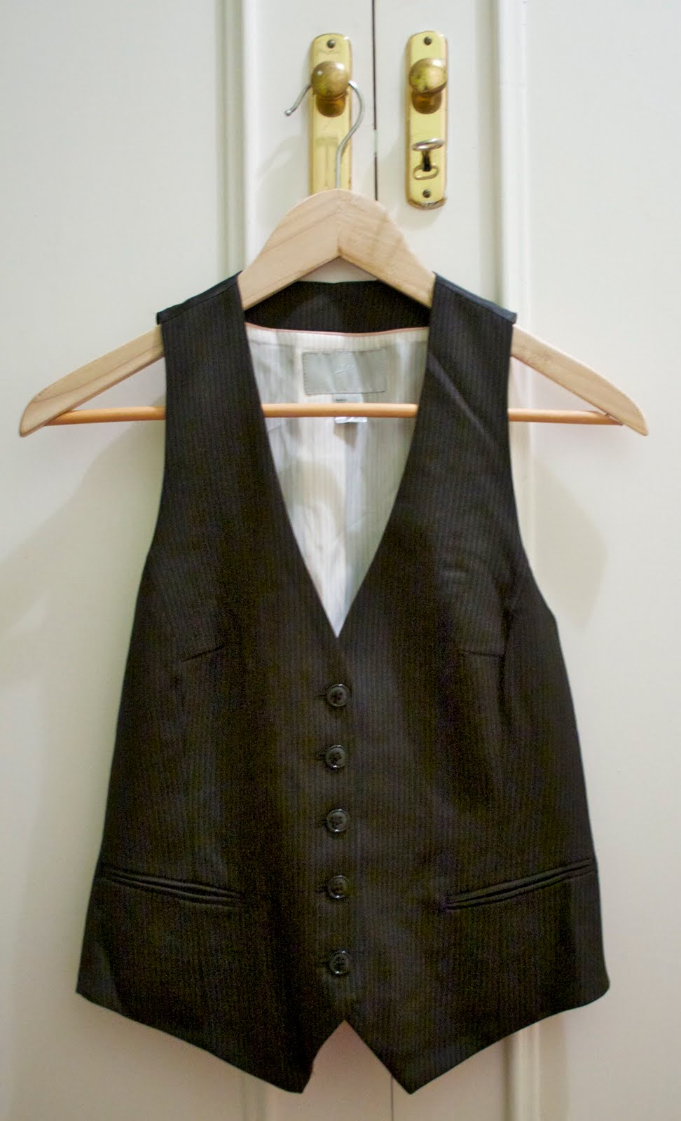 Cómo customizar un chaleco de H&M-70-crimenesdelamoda