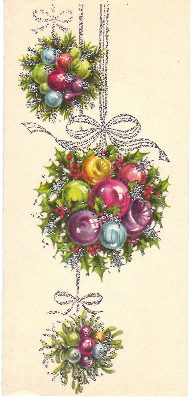 View from the Birdhouse: Mid Century Vintage Christmas Cards