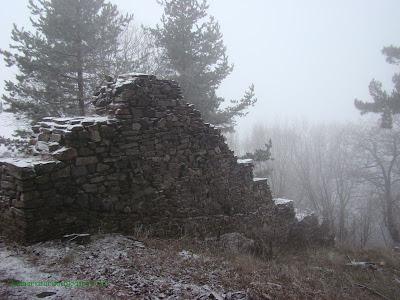 крепост Цепина, западен зид