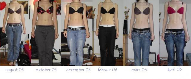 before and after thinspo