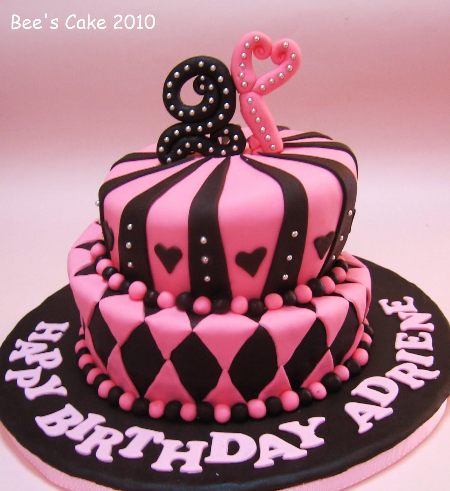 Bee S Cake Adriene S 21st Birthday