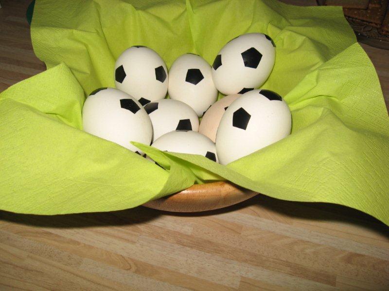dekoliebe fussball deko. Black Bedroom Furniture Sets. Home Design Ideas