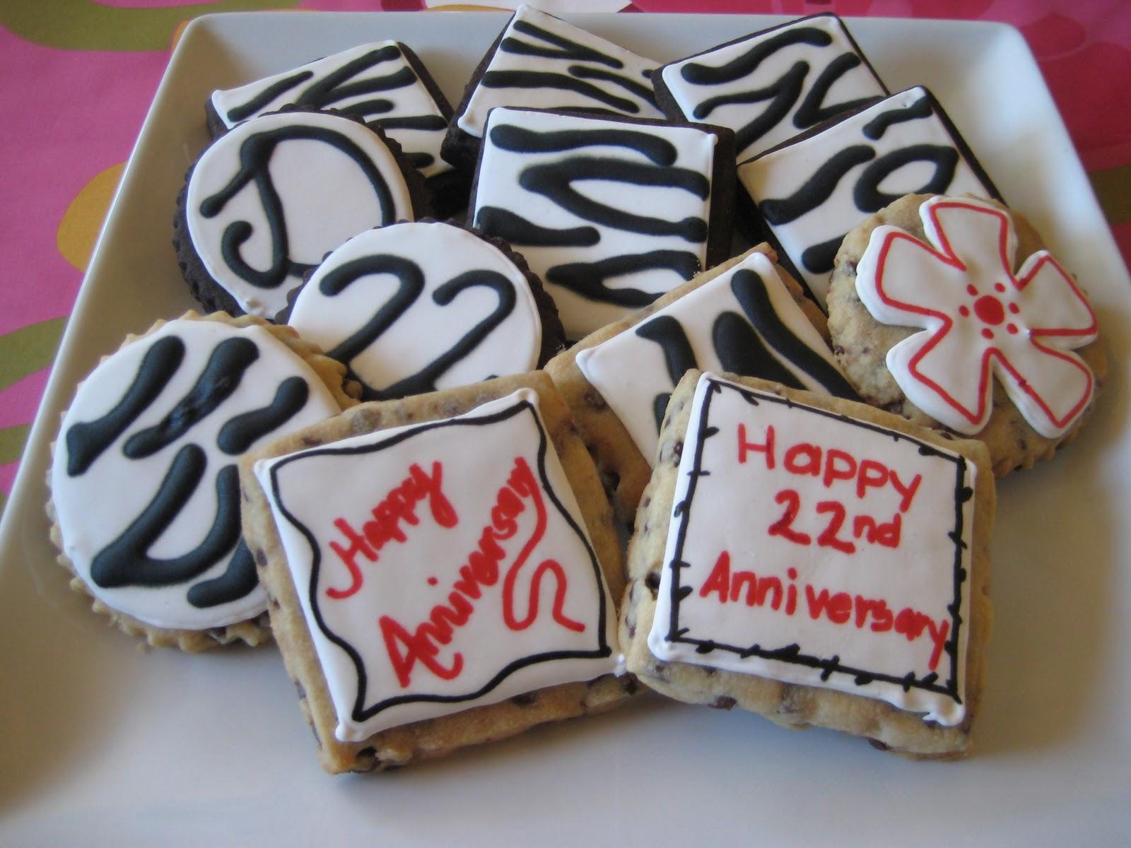 22nd Wedding Anniversary Gift Ideas: SugarHI Creations: Happy 22nd Anniversary