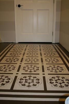 how to paint a floor (diy painted rug)diy show off ™ - diy