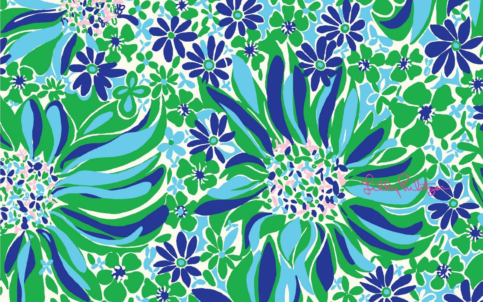 Far More Than Rubies: Lilly Pulitzer & Vera Bradley Wallpaper