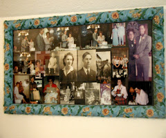 Framed Family Collage of Photographs