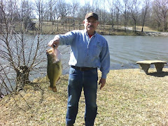 My Husband With Catch of the Day