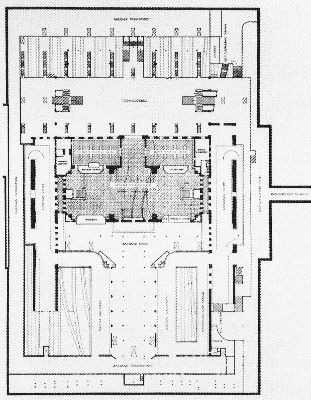 Penn Station Pathfinder Historic Floorplans