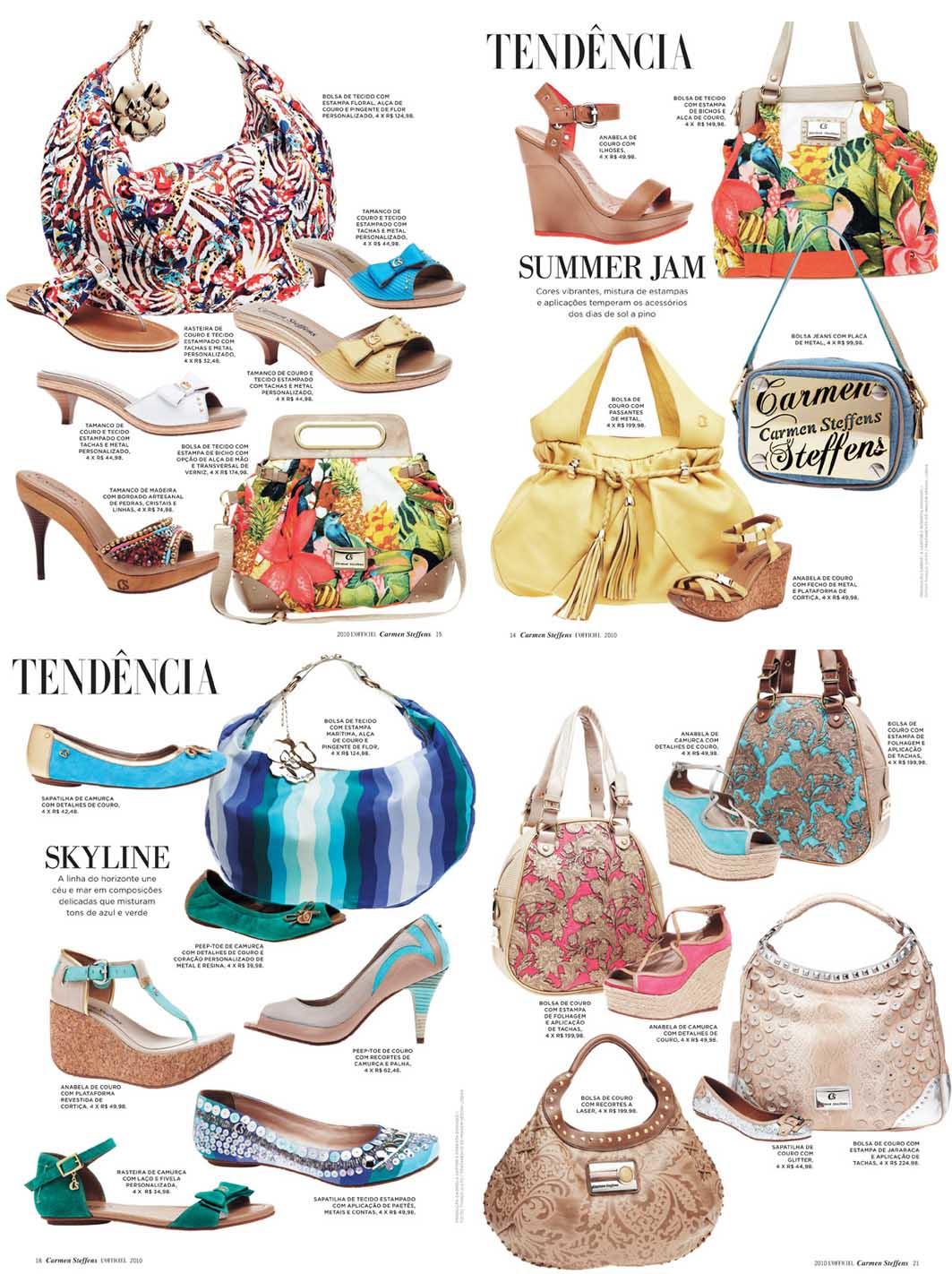377cada87 ... os sapatos e essas bolsas, que na minha opinião, estão as mais fofas de  todas as coleções; coleção pelo qual está bem verão, com muita cor e  alegria, ...