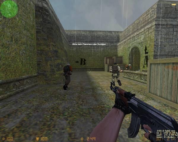 Télécharger Counter-Strike 1.6. Essayez la meilleure version du célèbre jeu Counter Strike. Counter-Strike est le jeu de tir en équipe en ligne le plus populaire dans l'histoire, et pour une bonne raison. Depuis plus d'une décennie, c'est le meilleur et le plus divertissant jeu de ce type, avec ses excellents
