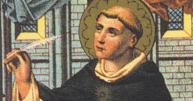Thomas Aquinas: MONKS AND MERMAIDS (A Benedictine Blog): ST THOMAS AQUINAS