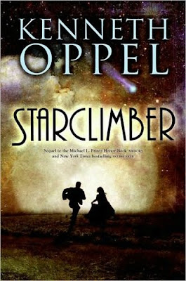 Starclimber by Kenneth Oppel a sequel to Airborn and Skybreaker steampunk alternate history YA novel