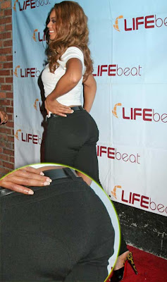 pads butt Beyonce wearing