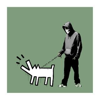 Banksy Choose Your Weapon Print Slate