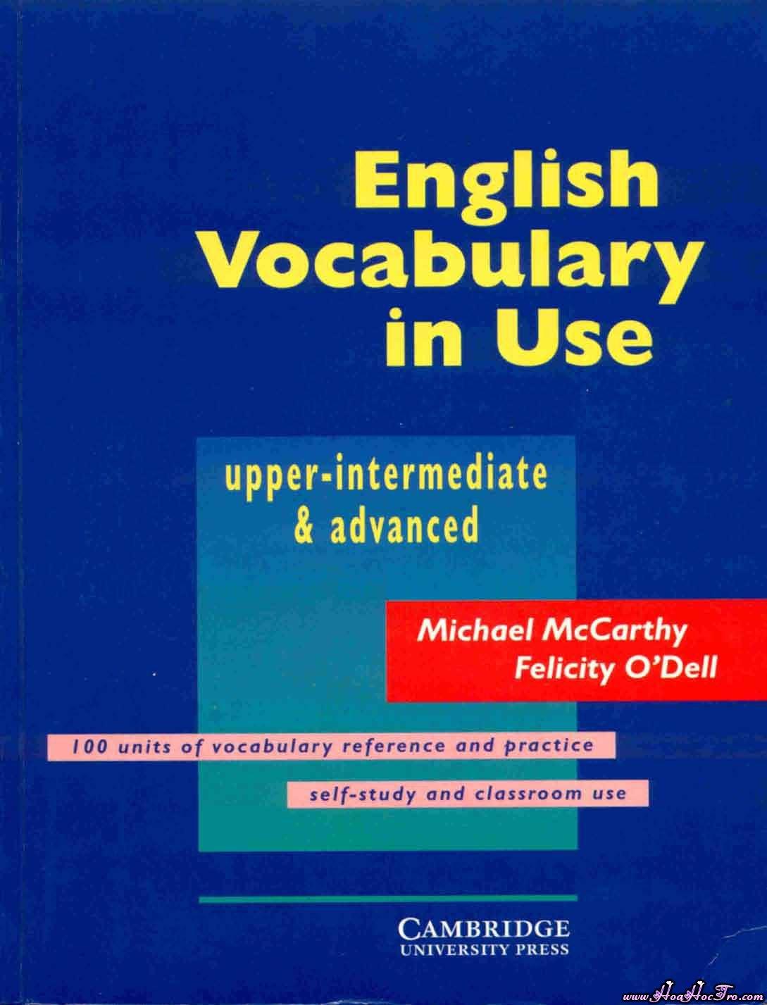 تحميل كتاب english vocabulary in use