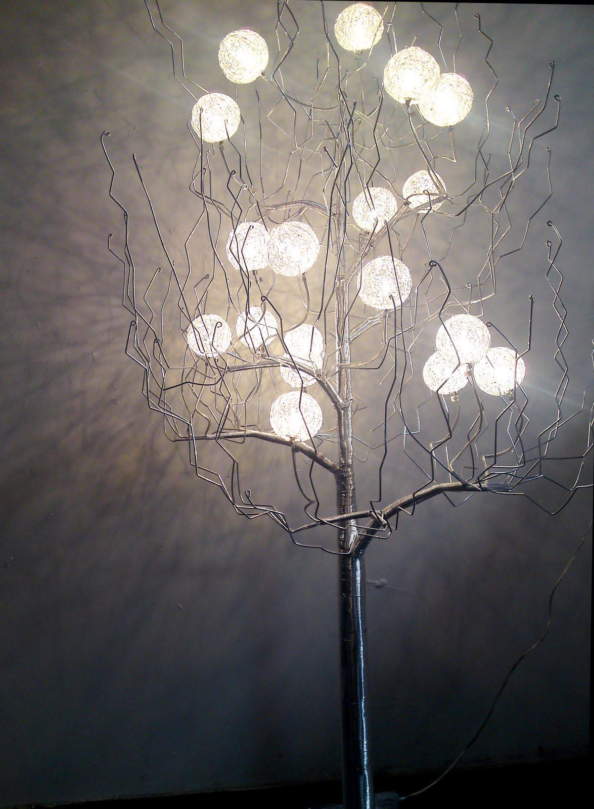 Hudston Design Imports: Tree Lamp 18 Bulb