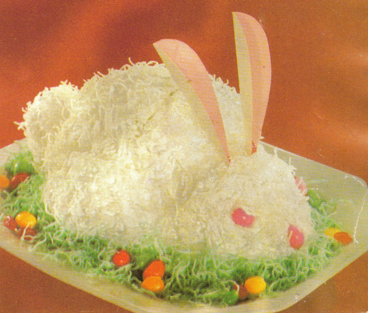 At Home N About Easter Bunny Cake