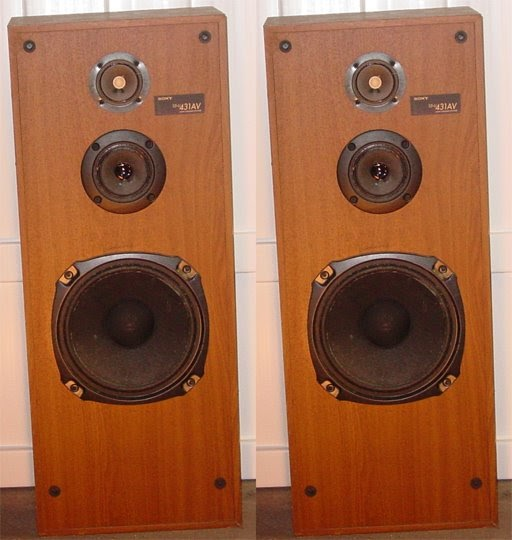Non Muslim Perspective On The Revolution Of Imam Hussain: Robert's Sound: Sony SSU-431AV Speakers With Grills