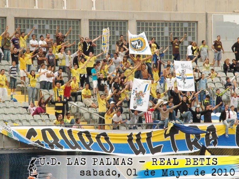 grupo ultra naciente 1985: U.D. Las Palmas - Real Betis