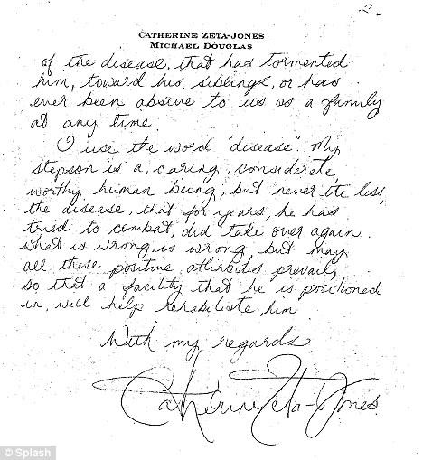 Yes, make it now.: Catherine Zeta-Jones pens heartfelt
