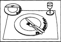 Galateo Posate A Tavola.Galateo Posate Fine Pasto