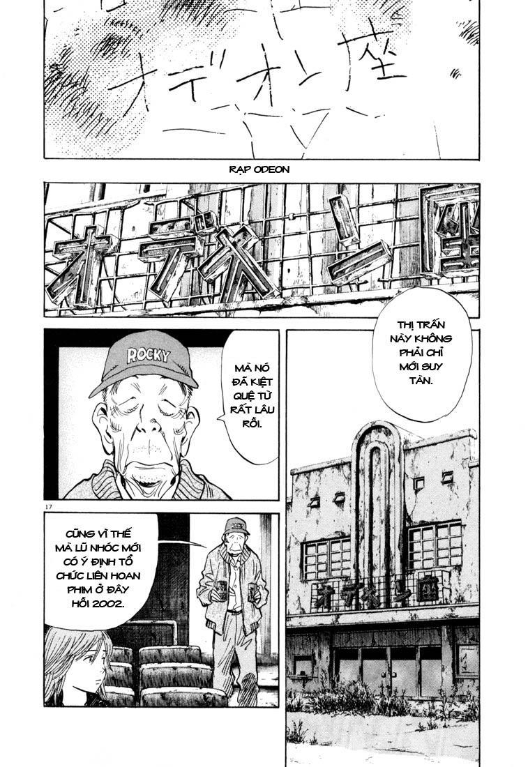20th Century Boys chapter 117 trang 35