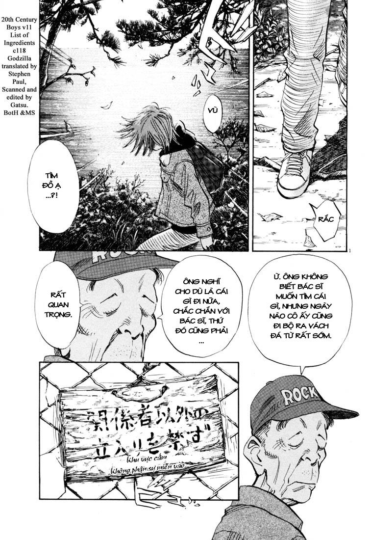 20th Century Boys chapter 118 trang 2
