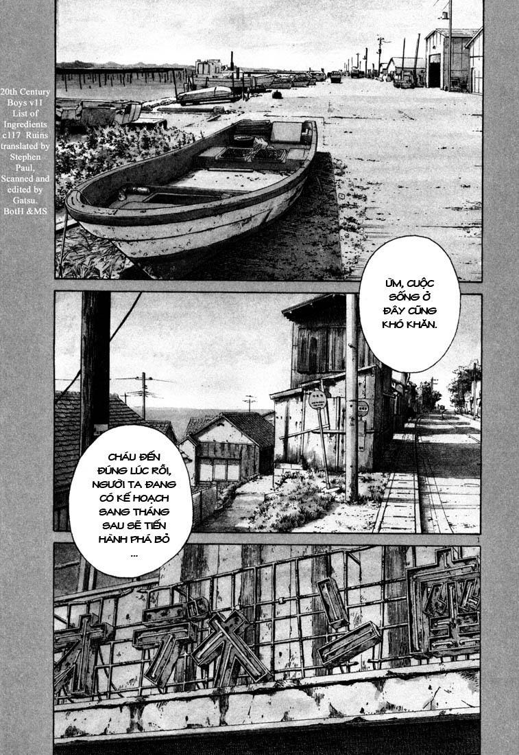 20th Century Boys chapter 117 trang 3