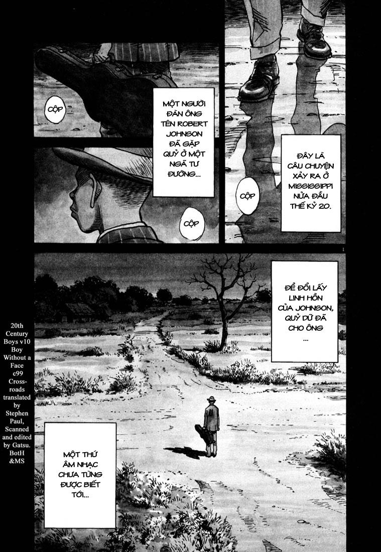 20th Century Boys chapter 100 trang 3