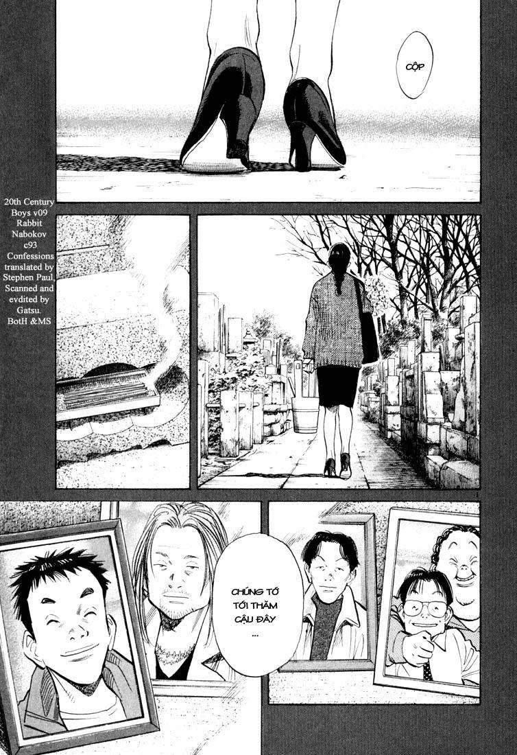 20th Century Boys chapter 93 trang 3