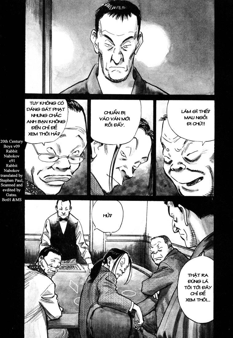 20th Century Boys chapter 91 trang 2