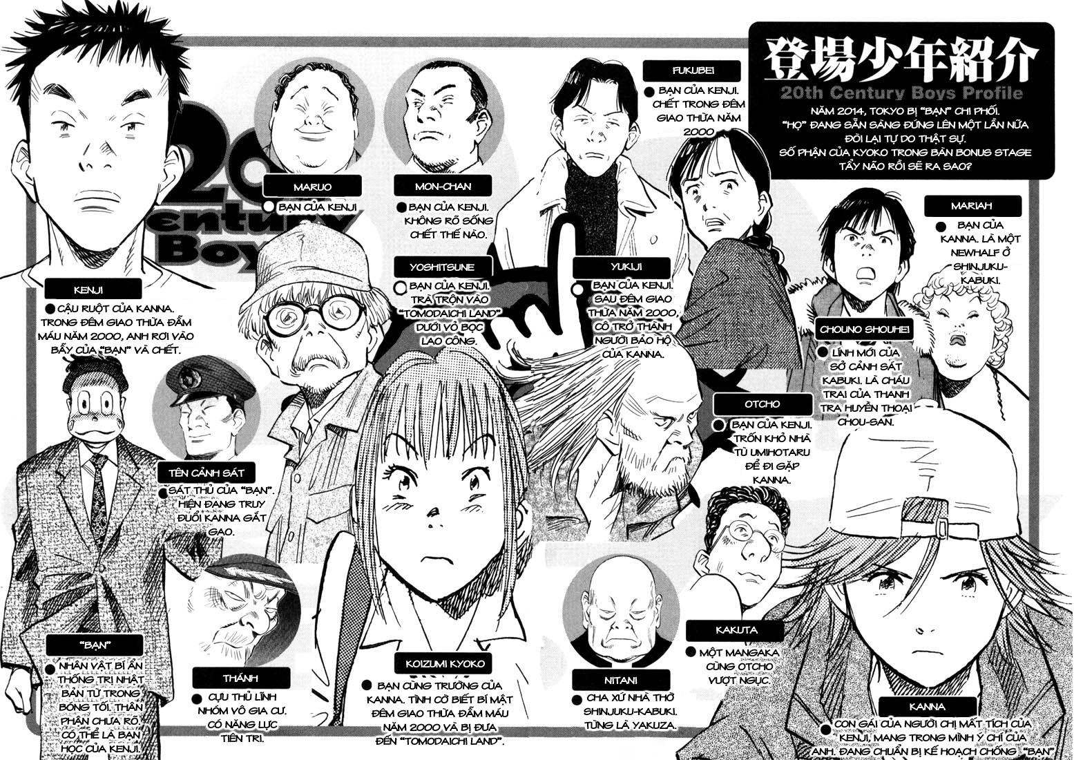 20th Century Boys chapter 88 trang 4