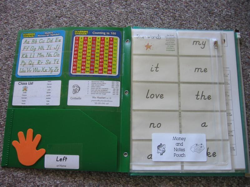 Kindergarten Big Learning: Parent Communication BEE Book Links