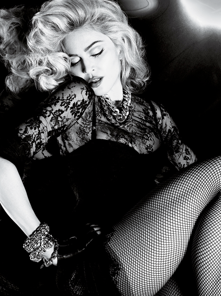 Madonna's Striking Pose