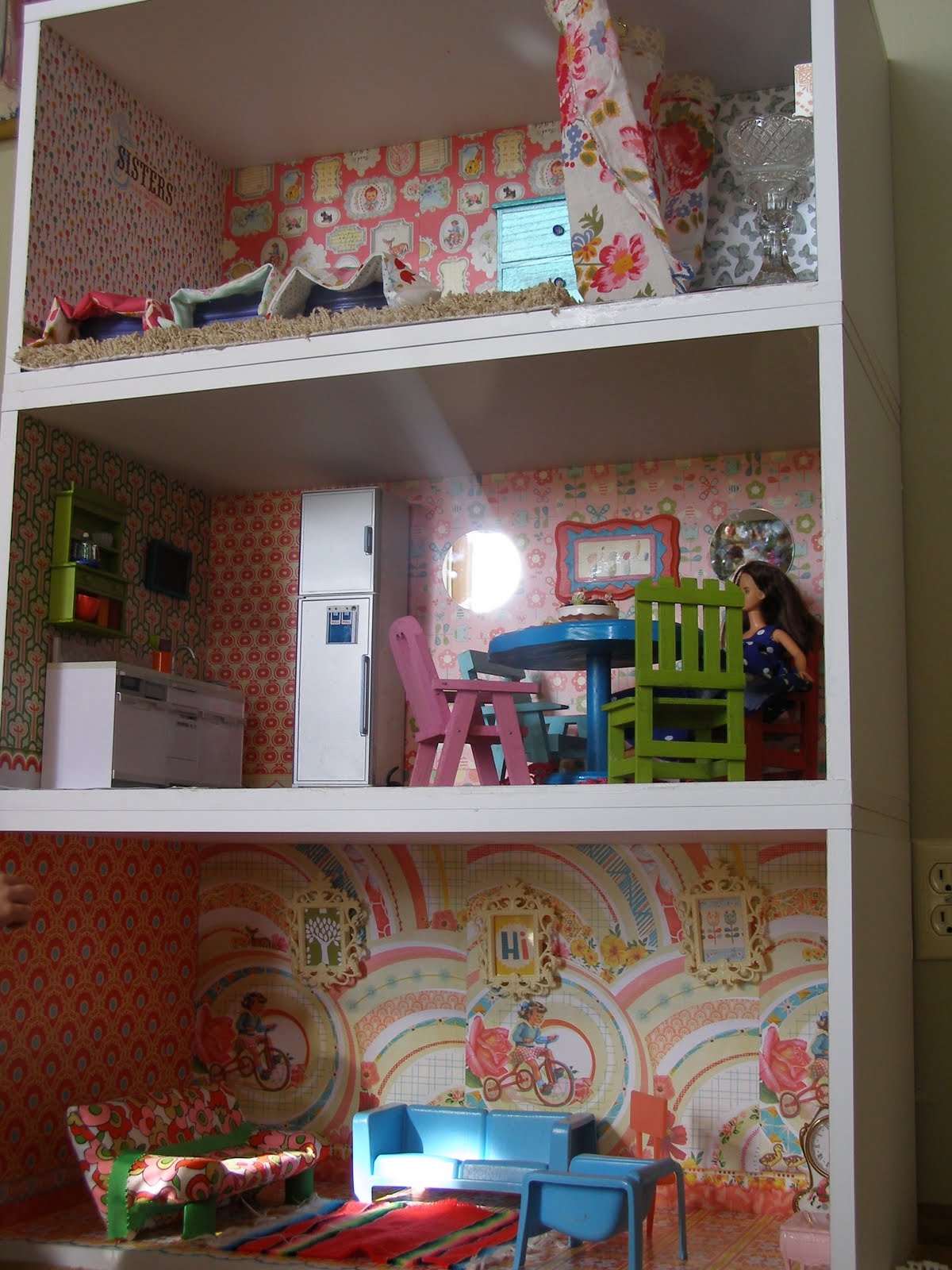 Dollhouse Bookcase Diy: Project: Project: Wooden Dollhouses Are Expensive. Make