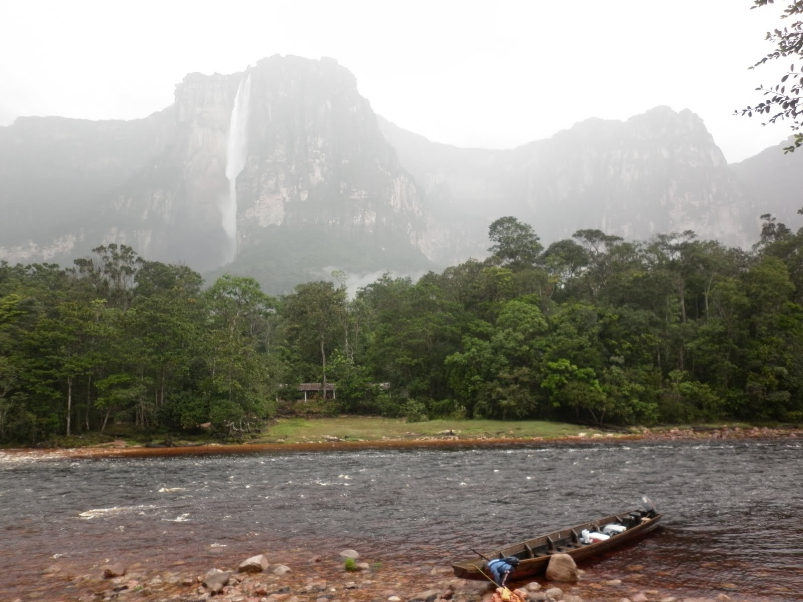 Thetimeandspaceofadam Canaima National Park And Angel Falls