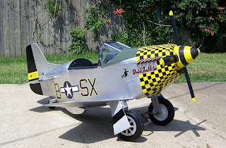 P-51 Mustang Pedal Plane Double Trouble Two
