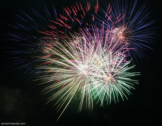 Fireworks Display at SM City Batangas