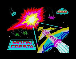 ZX Spectrum Games Moon Cresta