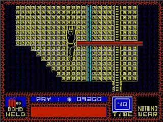 The saboteur was quite athletic on the ZX Spectrum