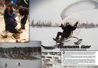 Paramotor Magazine: Reindeer Man   Ed Ewing