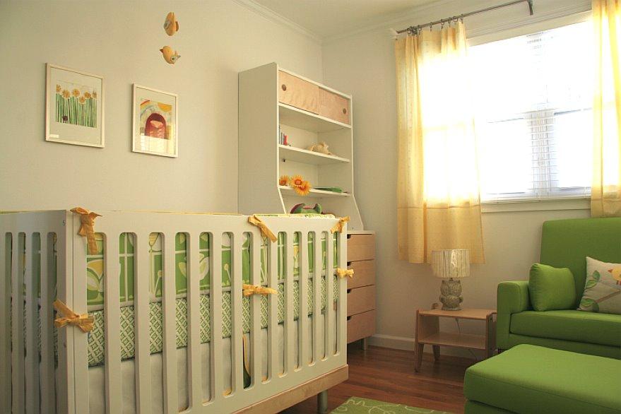 Blue and Green Nursery Ideas  The Bump
