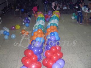 Decoración Con Globos Evento Del Día Del Niño