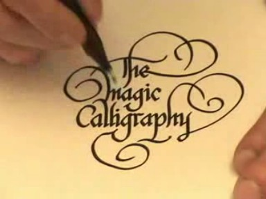 How to do various tasks: how to write calligraphy