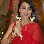 Rani Mukherjee celebrated Durga Pooja