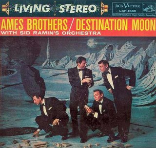 Ames Brothers—Destination Moon album