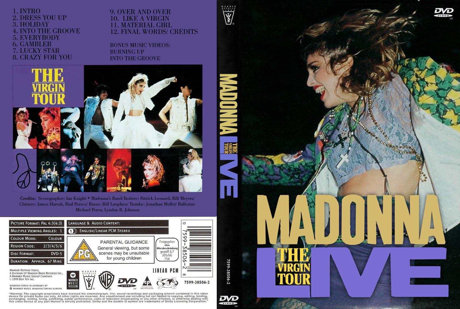 The Virgin Tour Dvd 49