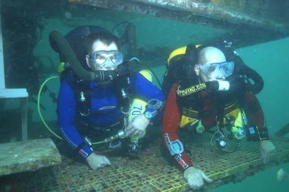 Shadow Divers - Cast