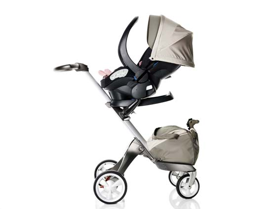 A Unique Car Seat That Converts To Lay Down Position When Removed From The Vehicle Turning Stokke Xplory Into BEST All Round Child Transportation